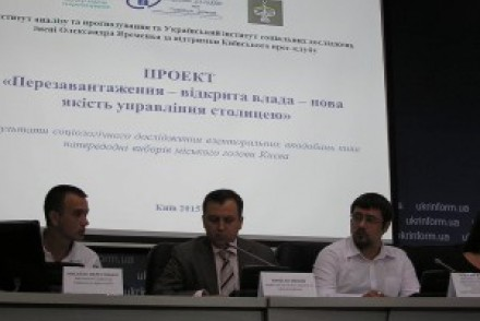 Перша соціологія по виборам мера Києва